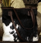 Handbag HB-0415 Tri-color hair-on-cow leather 16