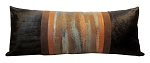 P-0928 Hand painted patina body pillow. 42